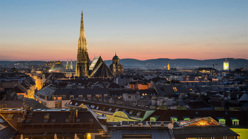 Vienna is a Best Place to Travel in Europe